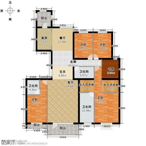 梧桐府5室2厅3卫0厨249.00㎡户型图