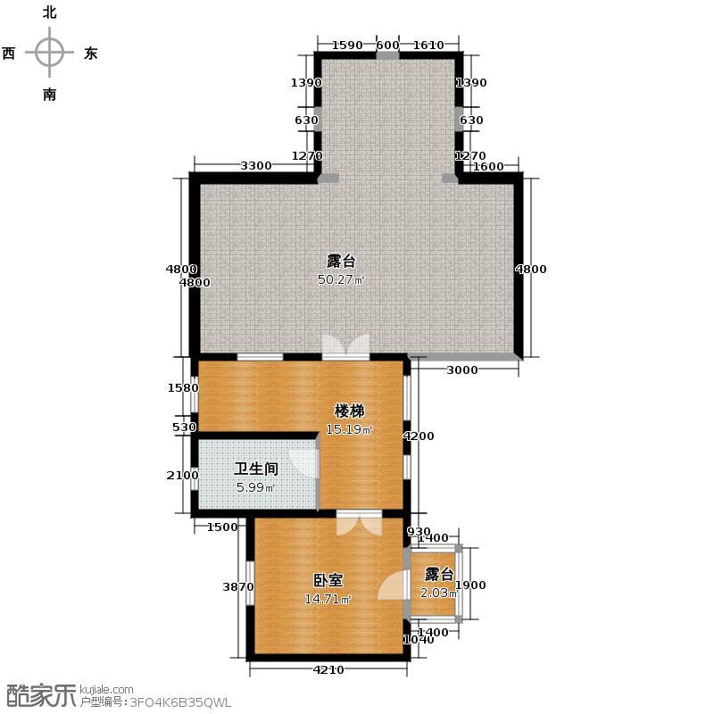 贻成水木清华97.23㎡别墅三期TH6三层户型10室