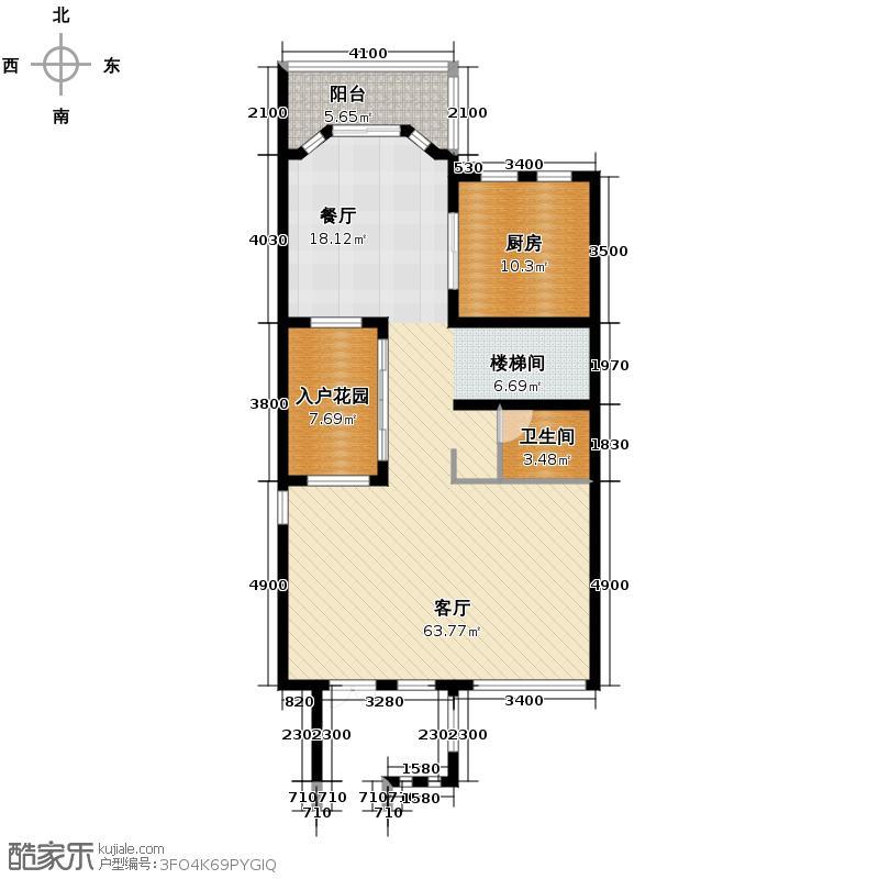 上邦高尔夫国际社区217.00㎡B3-2联排别墅户型10室