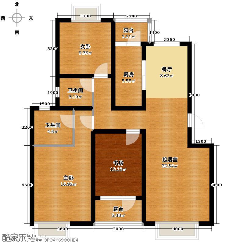 金厦龙第世家112.36㎡户型10室