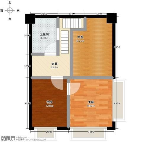 骏逸・第一江岸2室0厅1卫0厨70.00㎡户型图