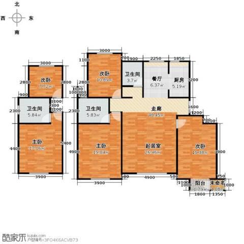 首创玲珑墅3室2厅2卫0厨139.09㎡户型图