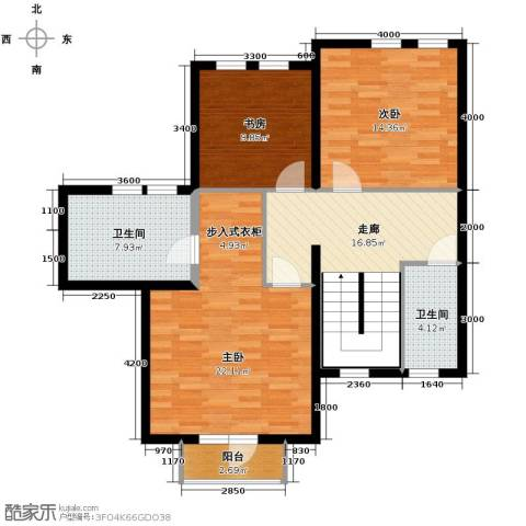托斯卡纳3室0厅2卫0厨160.00㎡户型图