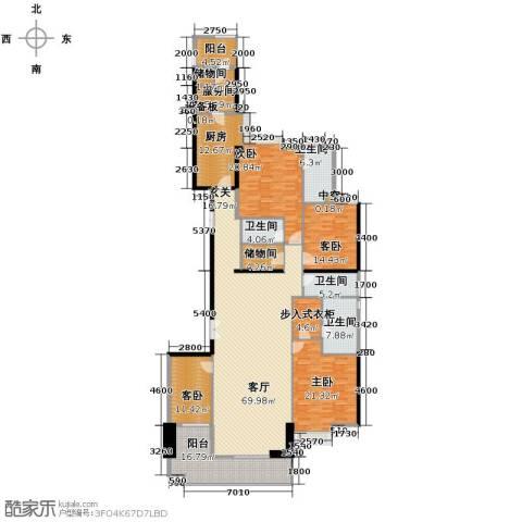 富力公园284室1厅4卫1厨273.00㎡户型图