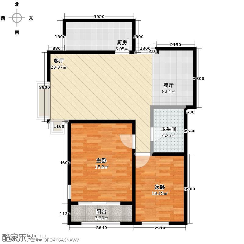 犀地76.77㎡户型10室