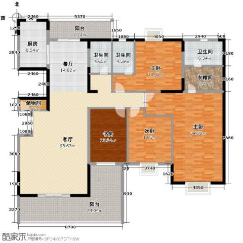 富豪山庄4室2厅3卫0厨232.00㎡户型图