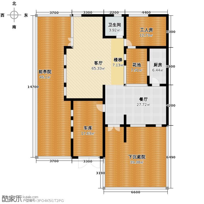 檀香海221.01㎡户型10室