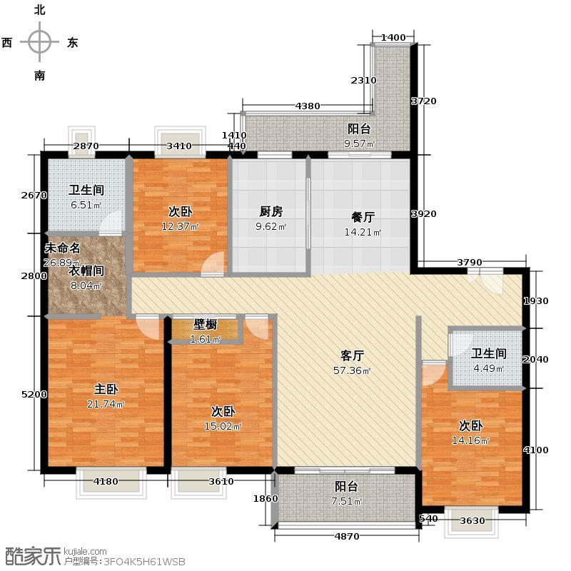 紫薇永和坊206.00㎡7/9号楼在售户型10室