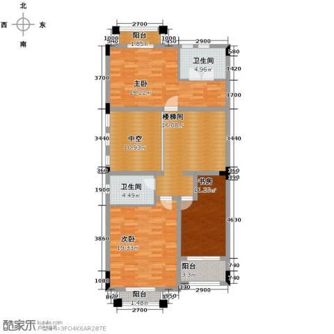 中信凯旋公馆3室0厅2卫0厨356.00㎡户型图