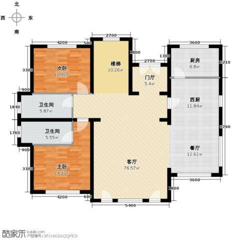 天恒・半山世家9室2厅6卫0厨150.00㎡户型图