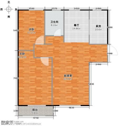 岭湾峰尚139.47㎡户型图