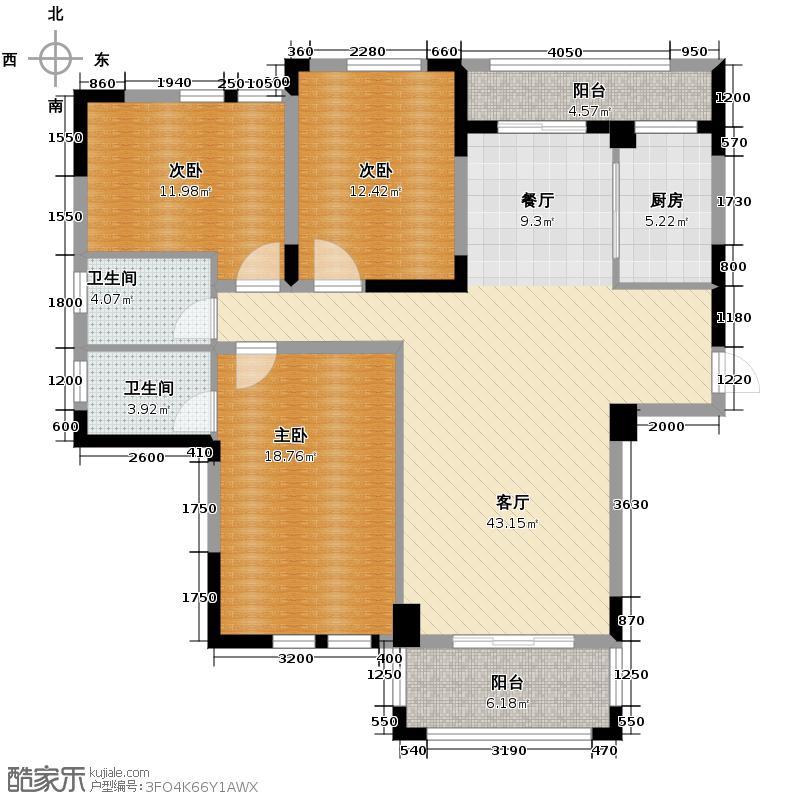 现代森林小镇金融SOHO垂直商业143.00㎡二期B区C栋1户型10室
