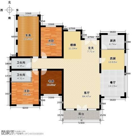 天恒・半山世家9室4厅5卫0厨195.00㎡户型图