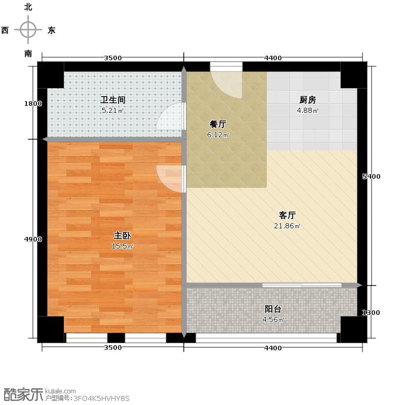 金荣央谷金座71.40㎡A4户型10室