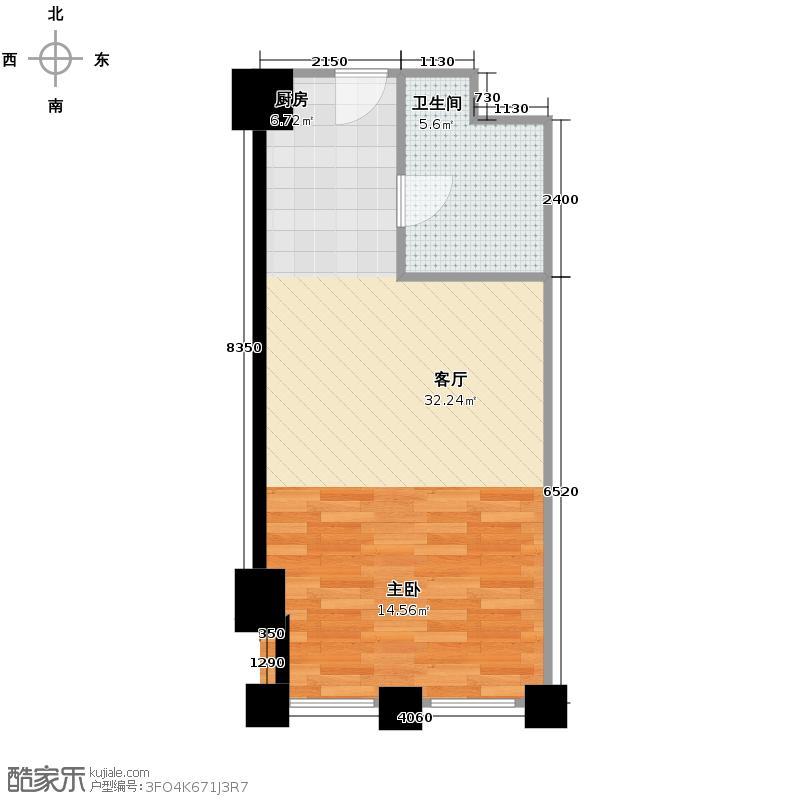 中国窗54.21㎡A1-4户型10室