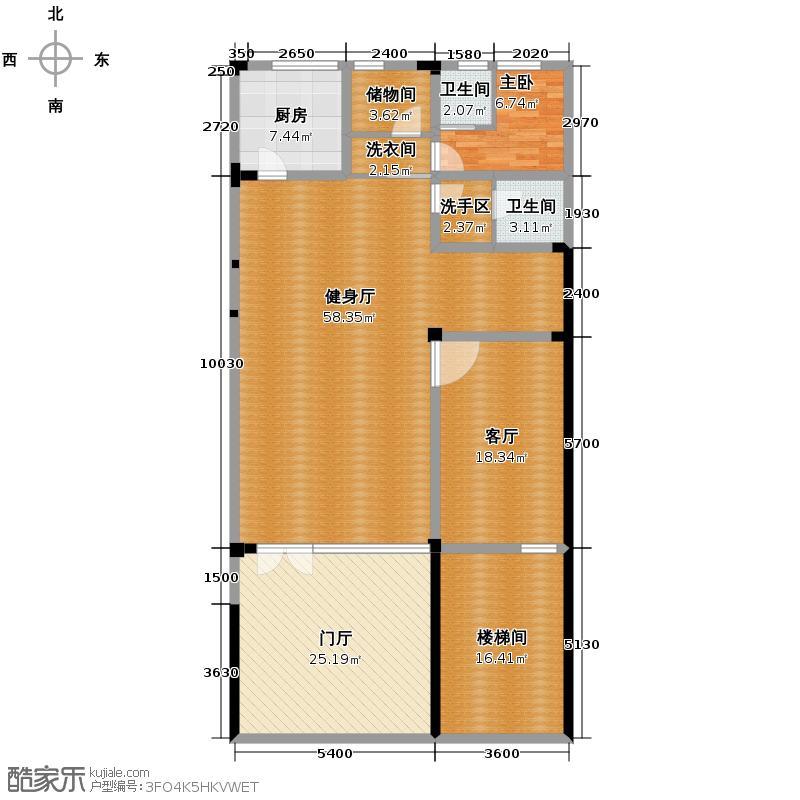 弘泽制造163.13㎡联排T1-3户型10室