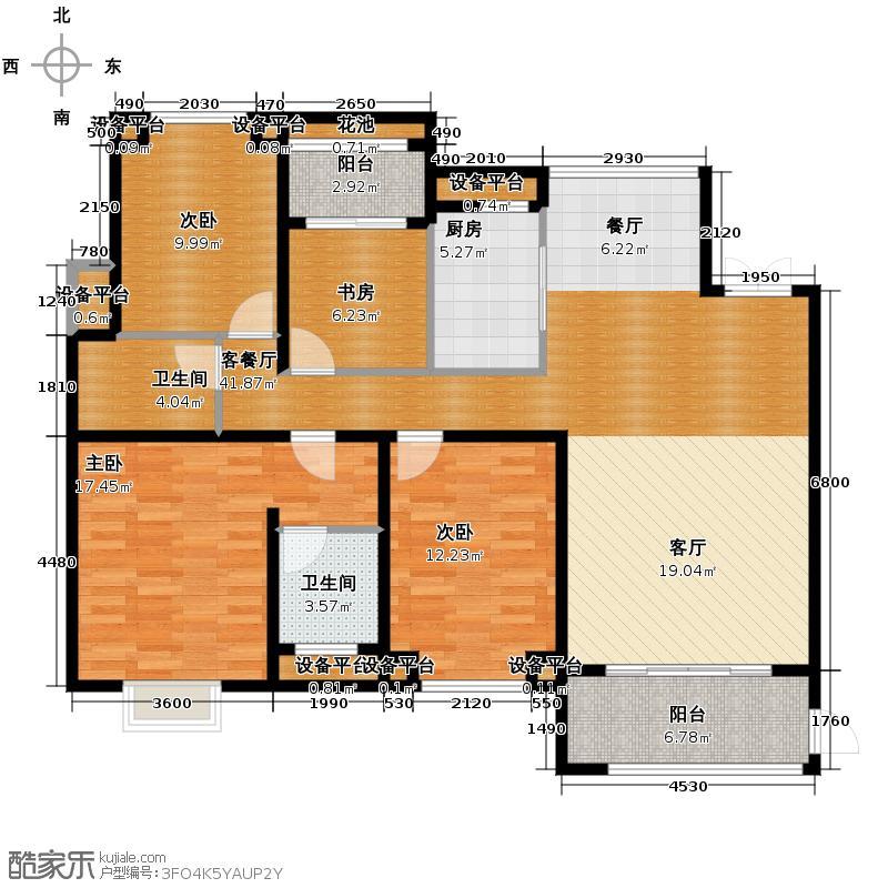 罗源湾滨海新城129.35㎡一至三区户型10室