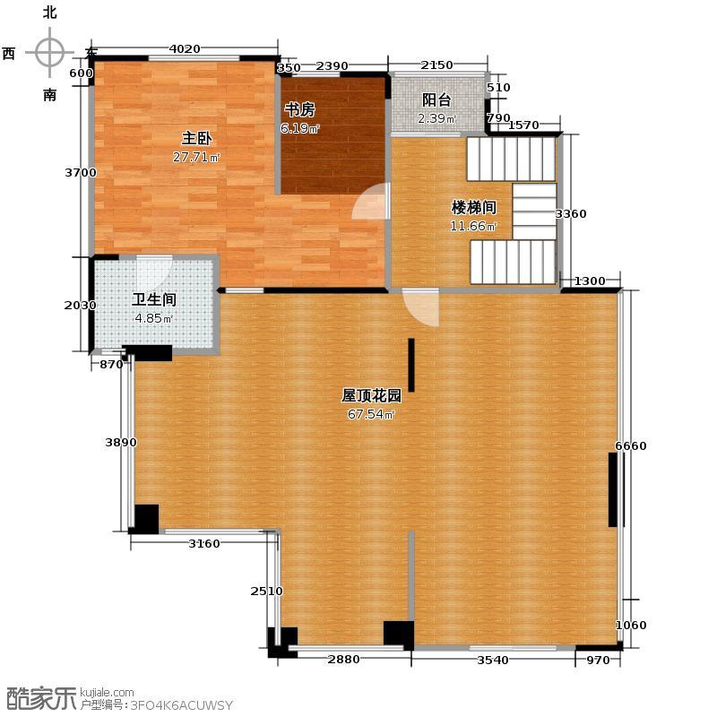 英郦庄园184.78㎡F8户型3室2厅2卫