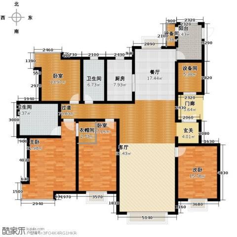 天庆格林小镇2室0厅2卫1厨230.00㎡户型图
