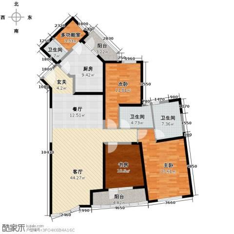 仁恒海河广场165.00㎡户型图