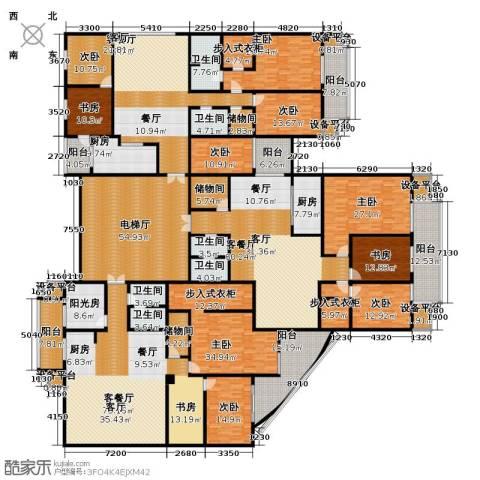 汇锦华庭9室3厅6卫2厨755.00㎡户型图