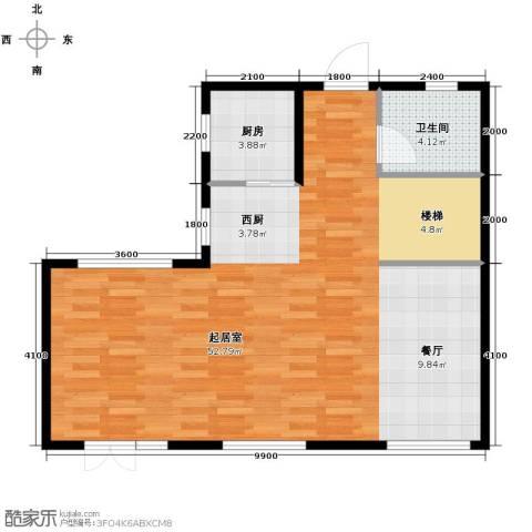 首创玲珑墅165.00㎡户型图