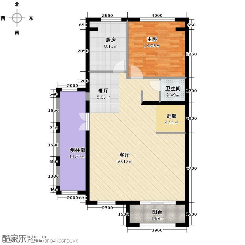 融科托斯卡纳庄园212.44㎡A5半一层户型5室2厅4卫