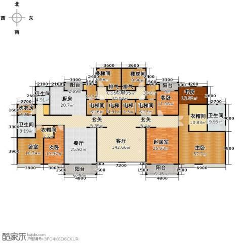 紫御府6室3厅3卫0厨371.00㎡户型图