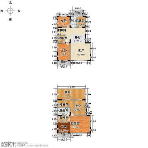 沽上江南3室3厅3卫0厨211.15㎡户型图