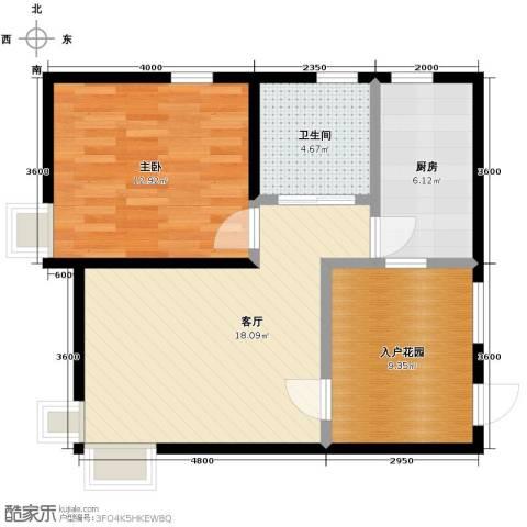 隆盛・乐活源67.00㎡户型图