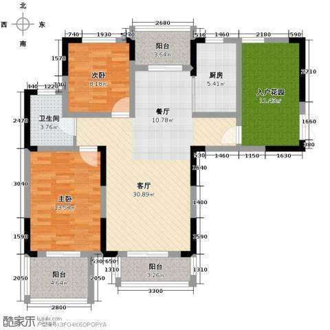 北环阳光花园2室2厅1卫0厨109.00㎡户型图