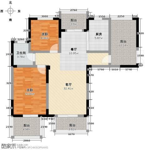 北环阳光花园2室2厅1卫0厨130.00㎡户型图