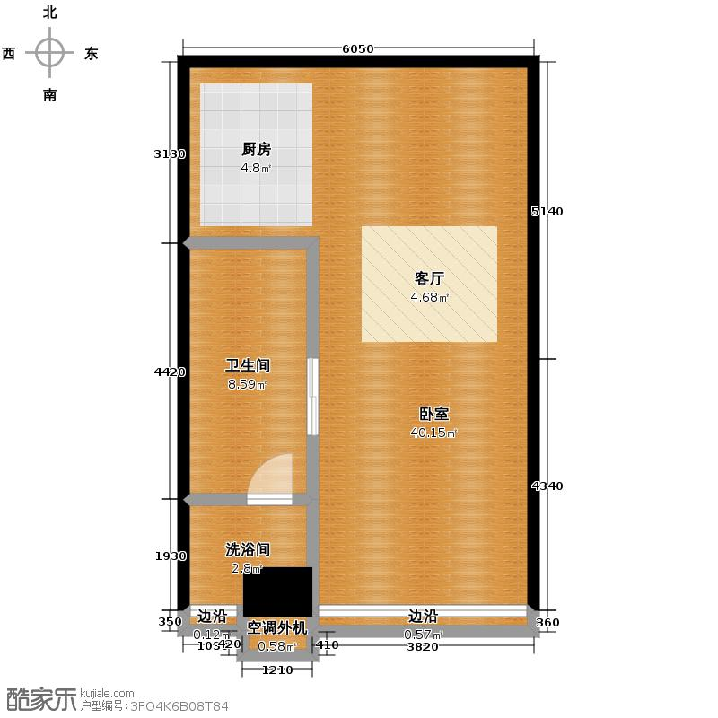 瑞湾国际汇馆76.51㎡a2户型10室