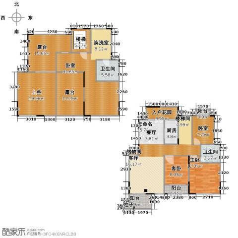 绿地泰晤士新城4室2厅2卫0厨201.00㎡户型图