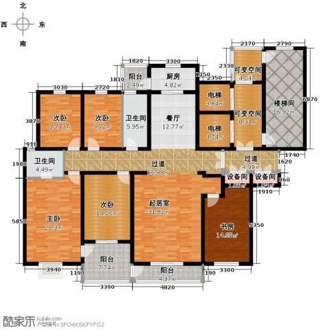 隆基新谊城5室2厅2卫0厨205.00㎡户型图