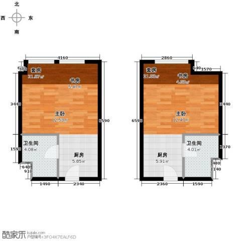 世贸天街1室0厅1卫0厨70.00㎡户型图