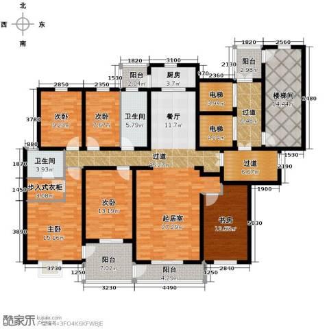 隆基新谊城5室2厅2卫0厨209.00㎡户型图
