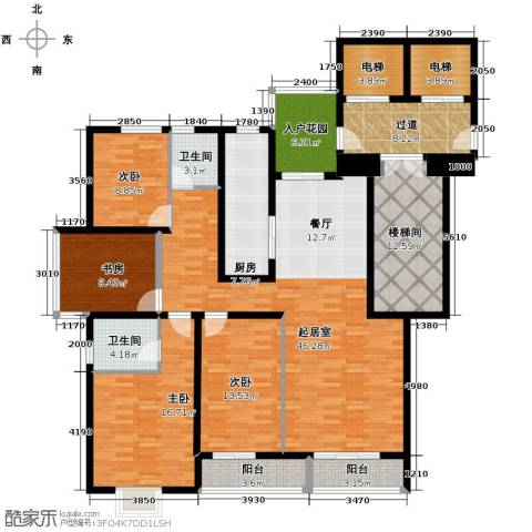 隆基新谊城4室2厅2卫0厨220.00㎡户型图