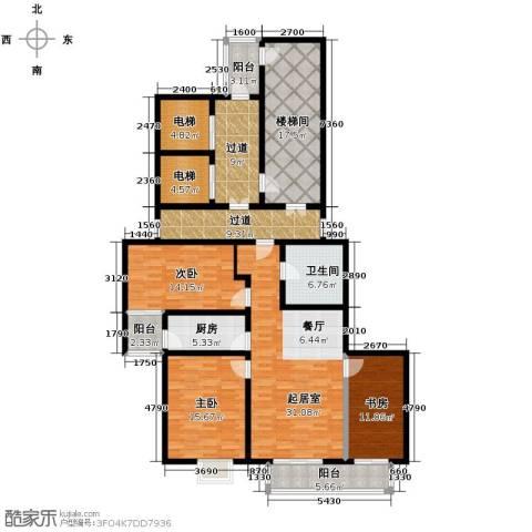 隆基新谊城3室2厅1卫0厨204.00㎡户型图