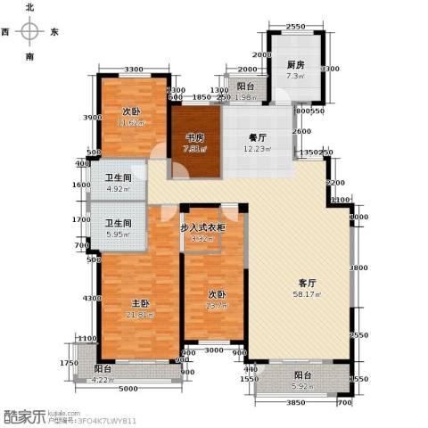凤凰御景4室2厅2卫0厨185.00㎡户型图
