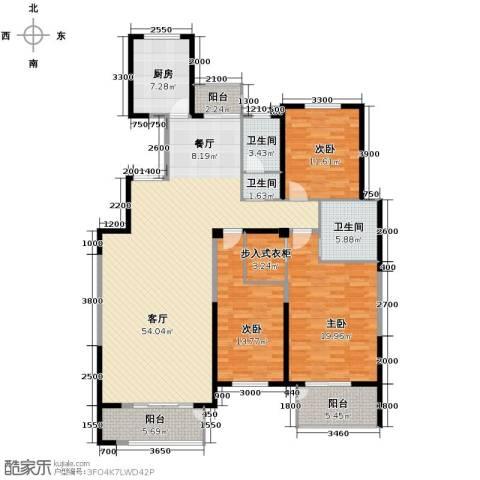 凤凰御景3室2厅2卫0厨169.00㎡户型图