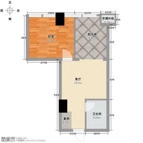 金水湾・城市广场61.00㎡户型图