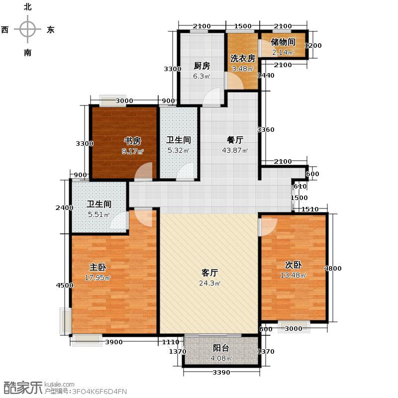 山水泉城119.63㎡6#7#10#11#13#14#背+保姆间户型10室