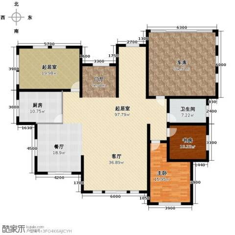 锦绣四明2室0厅1卫1厨270.00㎡户型图