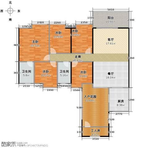 鹏达・丽水湾6室2厅2卫0厨180.00㎡户型图