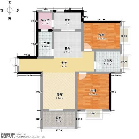 沂龙湾润园116.00㎡户型图