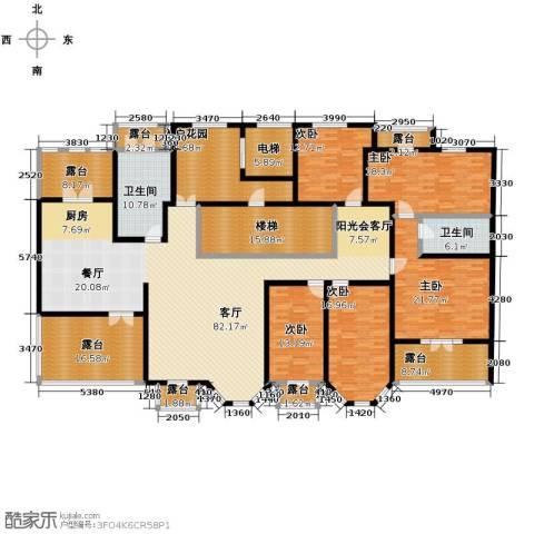 晟煜东湖湾5室1厅2卫0厨286.00㎡户型图