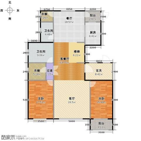 天成・明月洲190.00㎡户型图