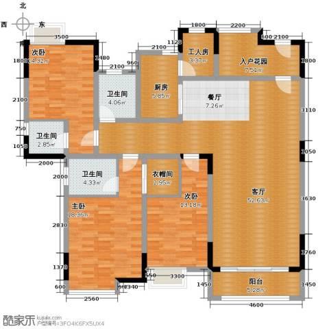 湖景壹号庄园192.00㎡户型图