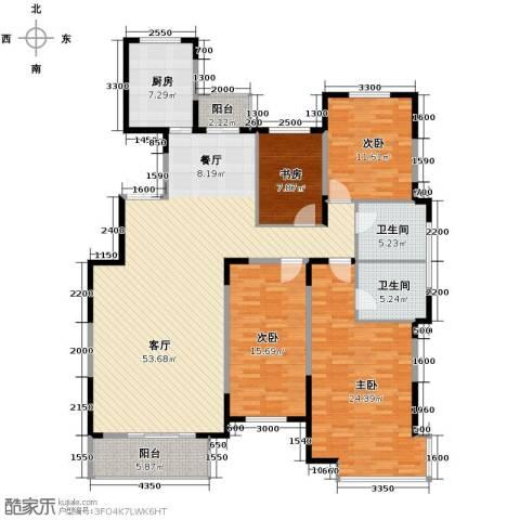 凤凰御景4室2厅2卫0厨172.00㎡户型图